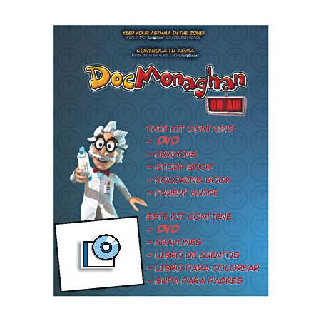 Doc Monaghan®, Teaching Kit, DVD, AeroBear™, Asthma Management, Pediatric, English/Spanish
