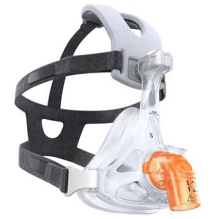 Face Mask, AF541, EE Leak 1 Elbow, Four Point Headgear, Medium