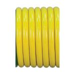 High Flow & Oxygen Equipment Air Hose, Yellow, Conductive, Kink Resistant, Medical Grade, 1/4-in ID, 1-ft