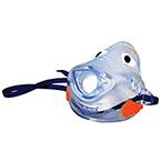Medication Delivery Aerosol Mask, Bubbles the Fish, Front-Load, Pediatric