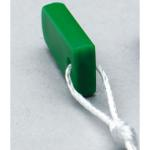 Airway Management Decannulation Stopper, Green, Size 6, 1/2 Closure