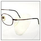 Other Healthcare Products Side Shield, SideShield, Clear, Disposable, for Use with Prescription Glasses