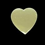 Diagnostics & Visualization Probe Cover, Heart Shaped, 1 1/4in, Gold Color, Disposable